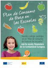 Programa de consumo de fruta en la Escuela.